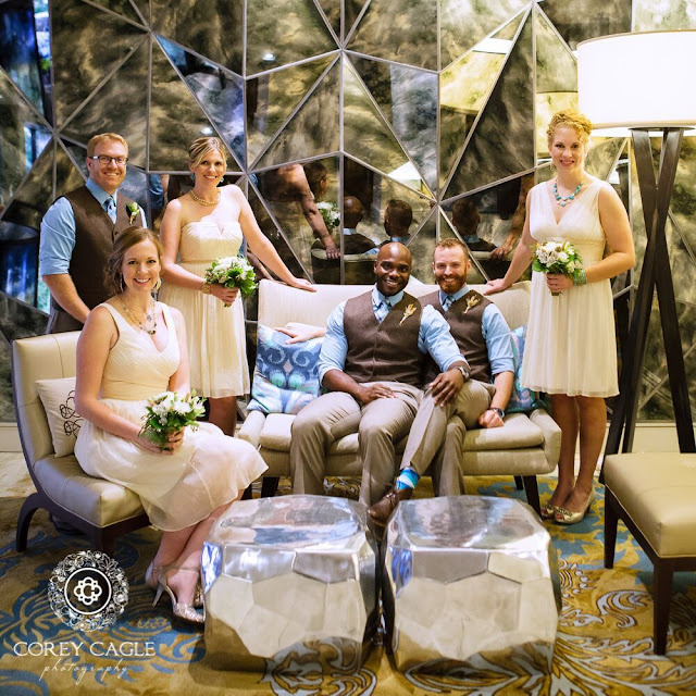 wedding party | Corey Cagle Photography