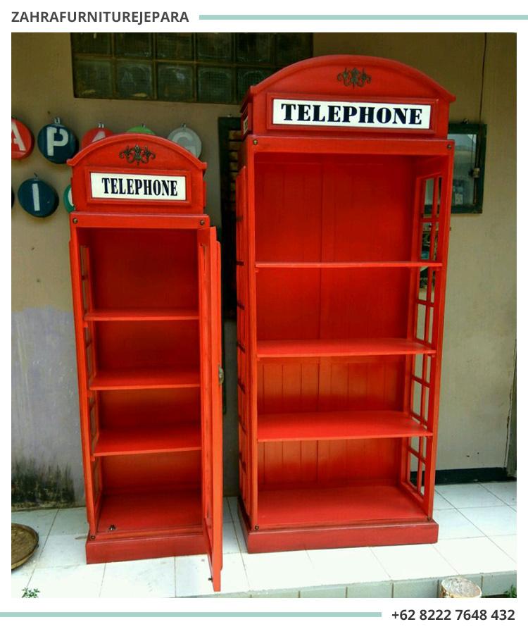 LEMARI BOX TELEPON LONDON INGGRIS / LEMARI BOX TELEPON