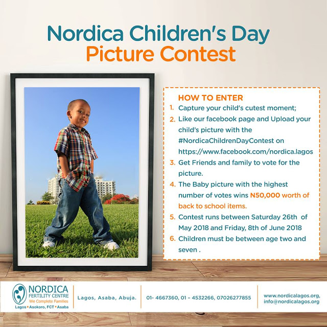 Nordica-Children's-Day-Picture-Contest-Win-N50,000-Gift-Items.