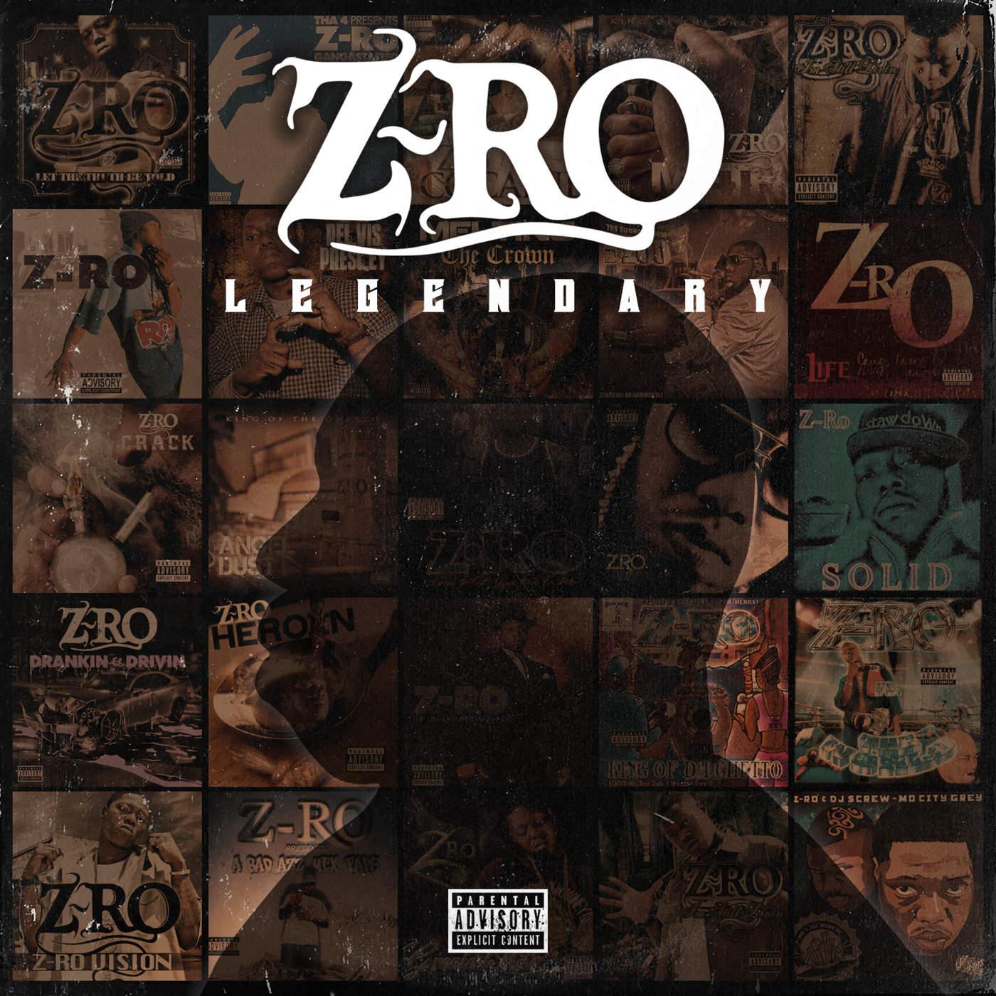 Z-Ro - Legendary Cover
