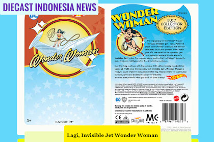 Lagi, Wonder Women Invisible Jet :D