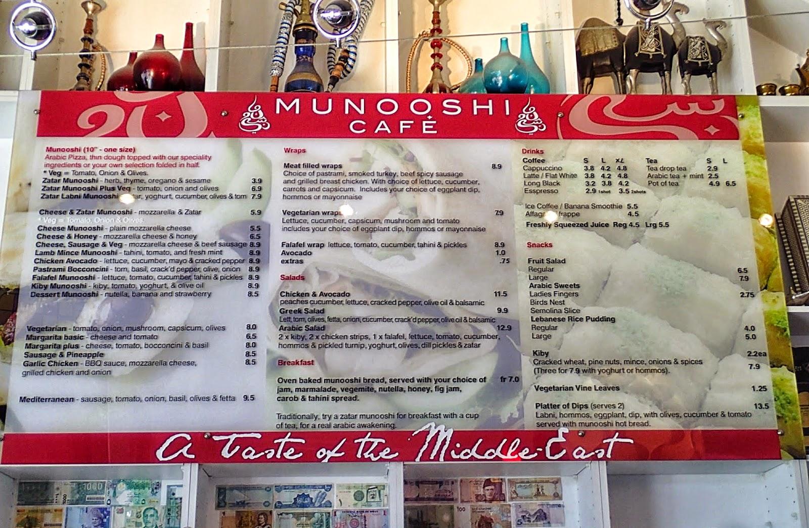 munooshi cafe review 2014