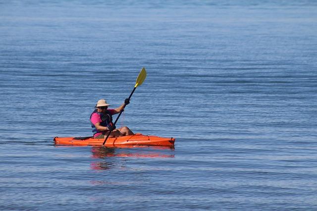 Paddling at Lake Havasu