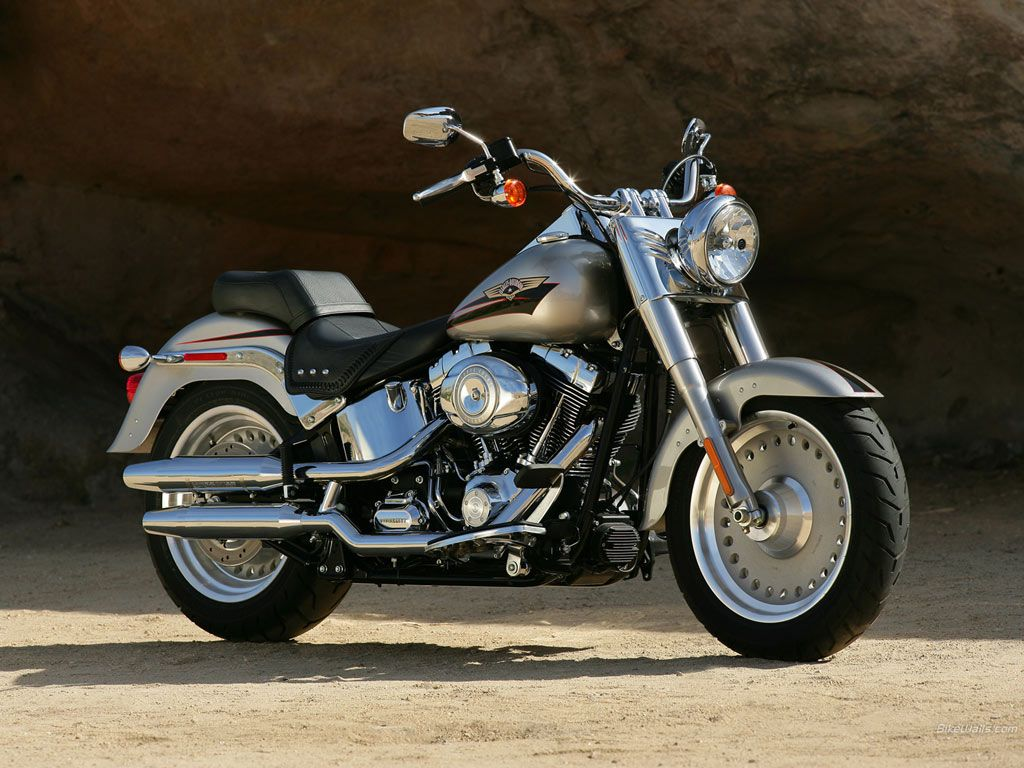 Harley Davidson Latest FATBOY model ~ MyClipta