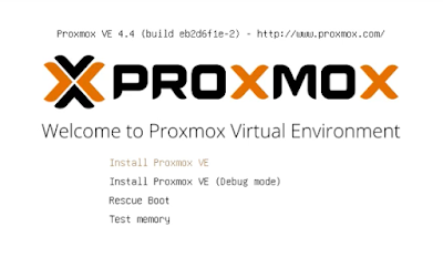 Tutorial Install Proxmox Virtual Environment