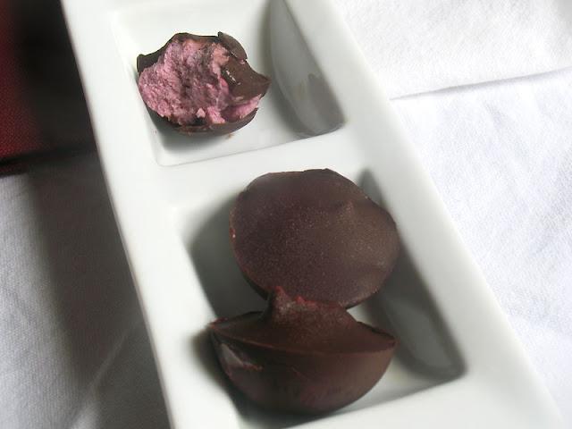 Creamy Raspberry Chocolates