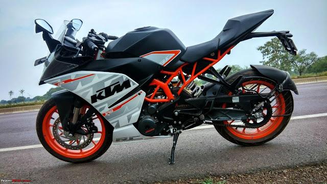 ktm rc 390 bike hd wallpaper