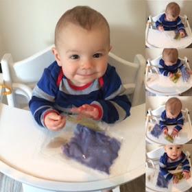 baby safe  sensory laminate pouches