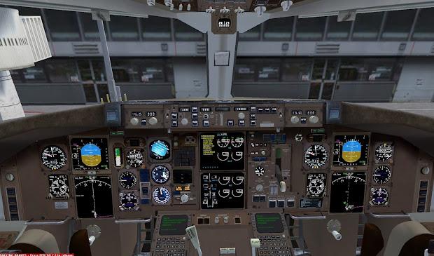 Flight Simulator Level D 767 - Year of Clean Water