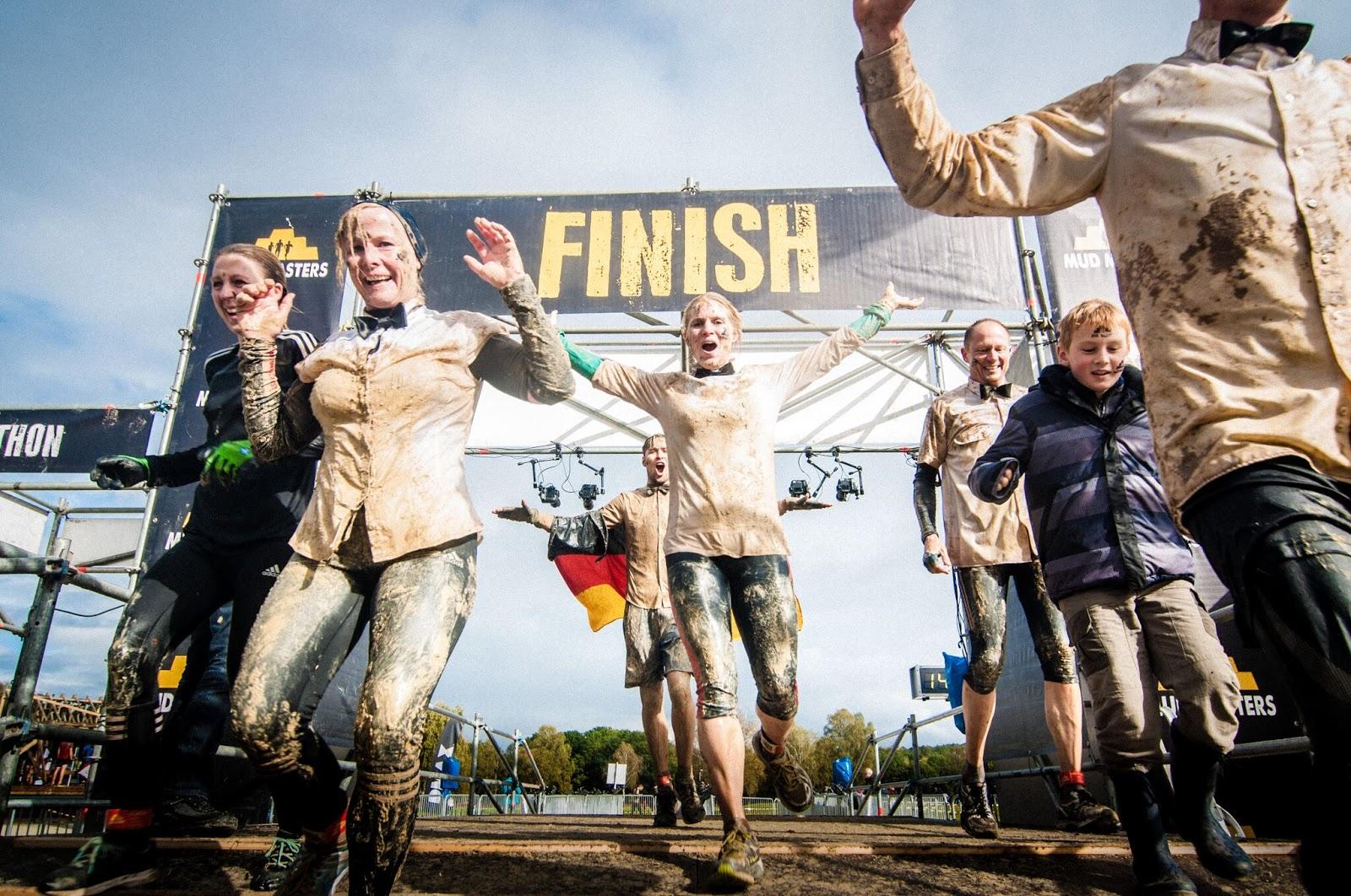 Mud Masters Ziel