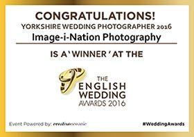 English Wedding Awards Winner 2016
