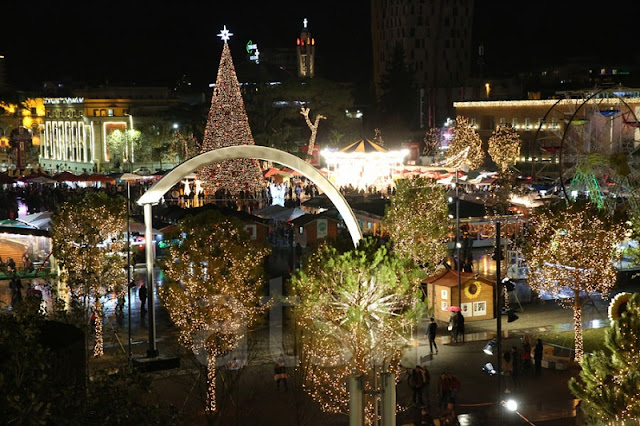 Corriere della Sera: Tirana, a tourist destination not to be missed for Christmas and December Holidays