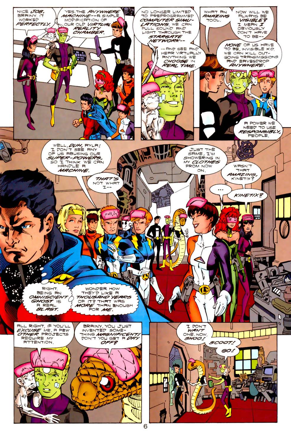 Legion of Super-Heroes (1989) 113 Page 5