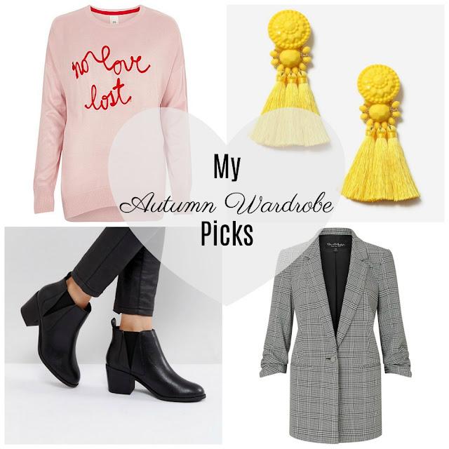 My Autumn Wardrobe 2017 Picks