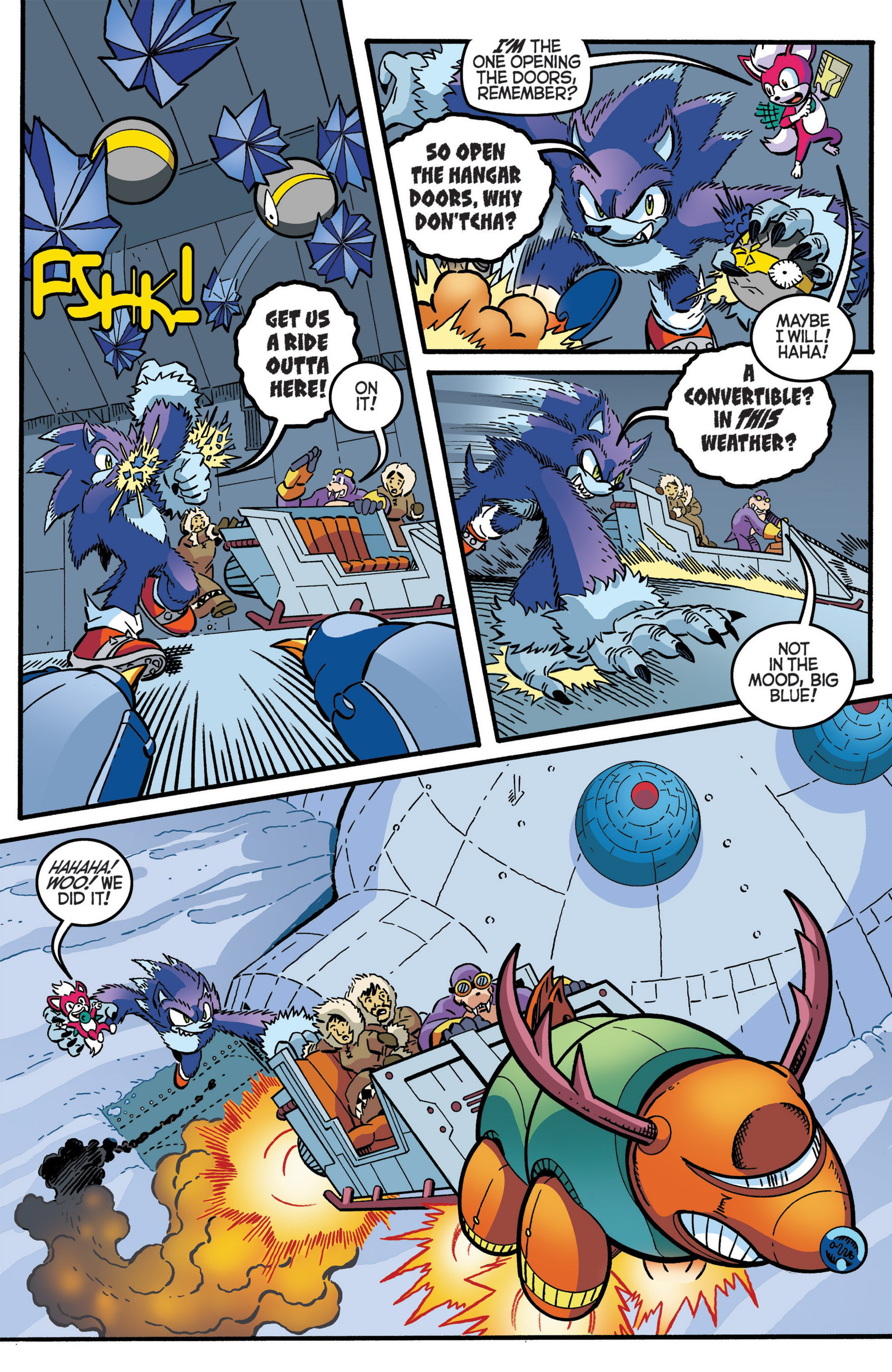 Read online Sonic The Hedgehog comic -  Issue #276 - 11