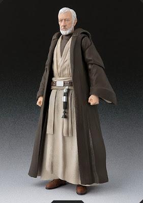 S.H.Figuarts Obi-Wan Kenobi de Star Wars Episode IV: A New Hope - Tamashii Nations