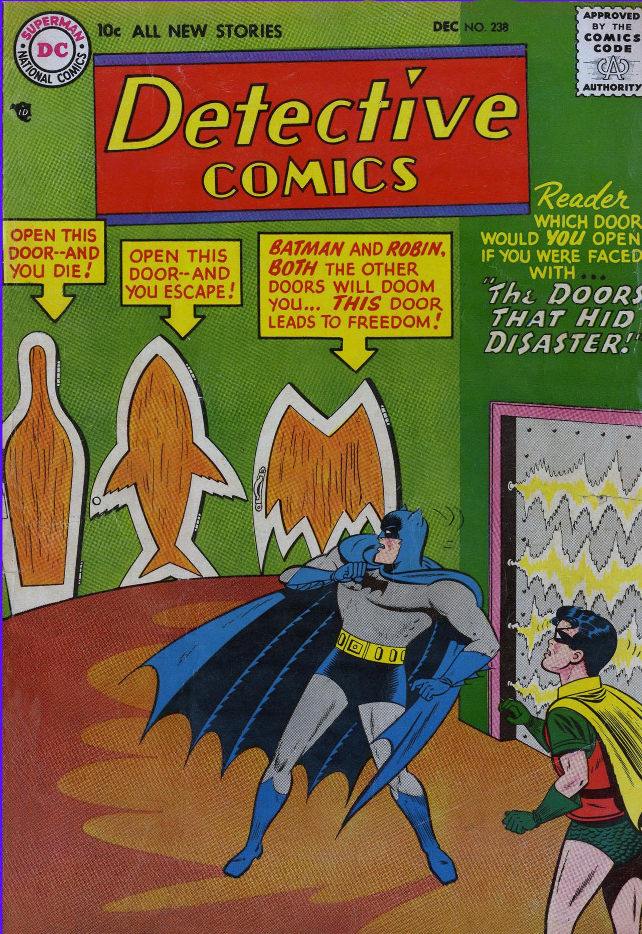 Detective Comics (1937) 238 Page 0