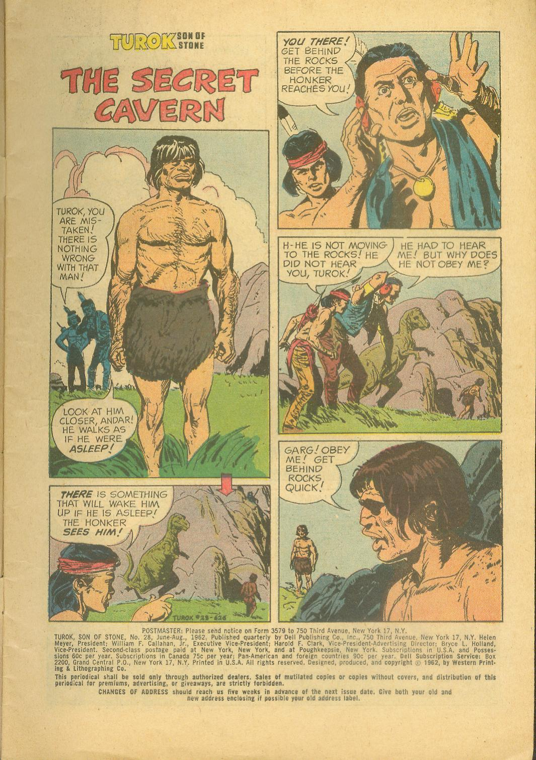Read online Turok, Son of Stone comic -  Issue #28 - 3