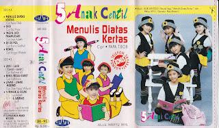 5 anak centil album menulis diatas kertas http://www.sampulkasetanak.blogspot.co.id