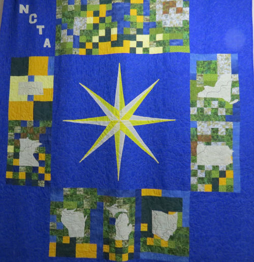 North Country Trail Quilt