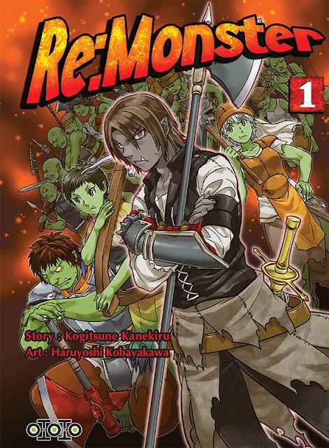 Actu Manga, Manga, Ototo, Re:Monster, Shonen,