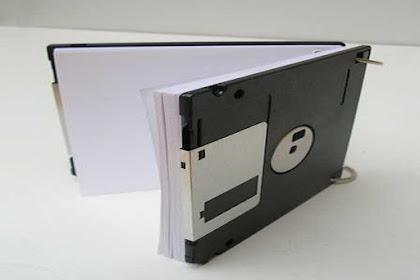 Cara Buku Nota Dari Disket Bekas