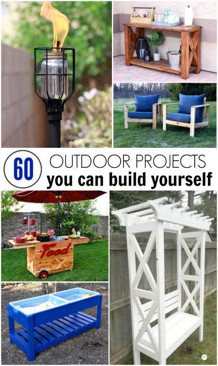 Incroyable Iu0027ve Rounded Up 60 Of The Best DIY Outdoor Projects That You Can Build