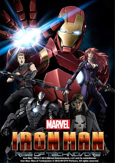Iron Man: La rebelión del technivoro<br><span class='font12 dBlock'><i>(Iron Man: Rise of the Technovore (Ironman Anime Movie))</i></span>