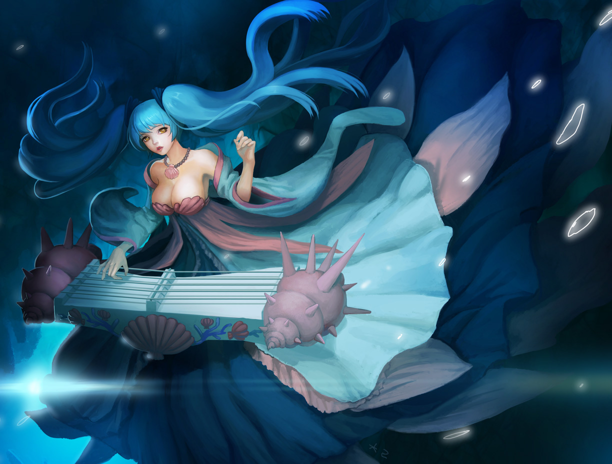Nerfplz | League of Legends Sona Wallpapers (Chinese ...
