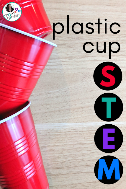 Plastic cup STEM challenges that you may not have tried! | Meredith Anderson - Momgineer