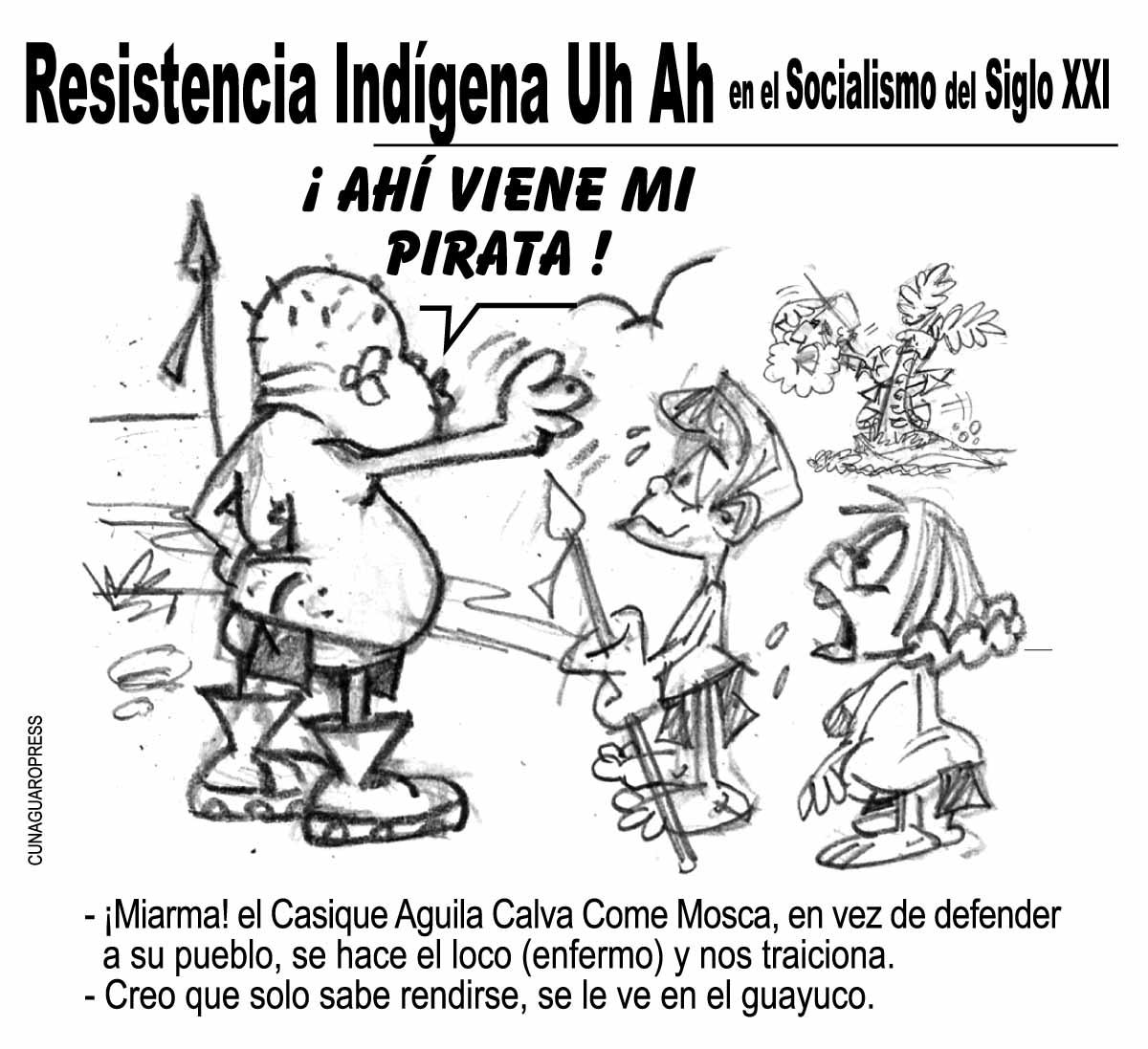 Dibujos Para Colorear Dia De La Resistencia Indigena