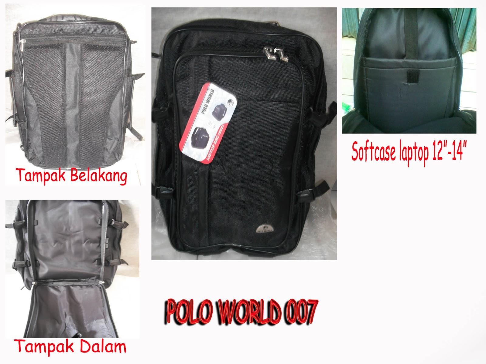 Distributor Tas Rangsel  Tas Ransel Laptop Polo World 007 55de497fb9acc