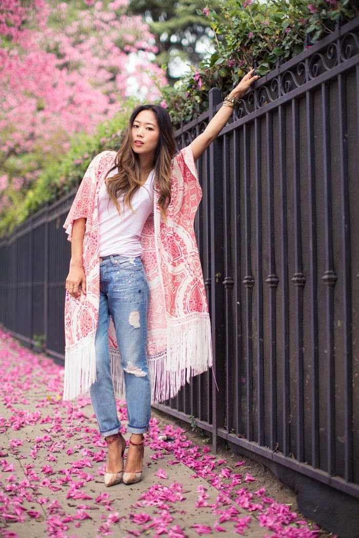 Since I Love The Kimono Style Dresses I Ve Seen On: Color-Block By FelyM.: KIMONO Outfit Ideas