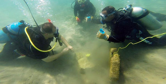Umayyad-era sunken marine port discovered in Aqaba Gulf
