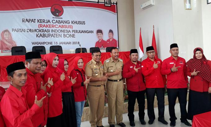 PDI-P Siap Menangkan Tafadal, Bahtiar Malla: Semua Kader Harus Bekerja