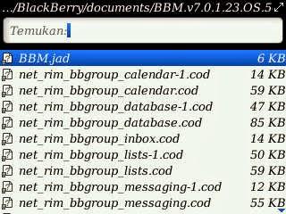 Cara Instal BBM 7 Offline Os 5,6,7