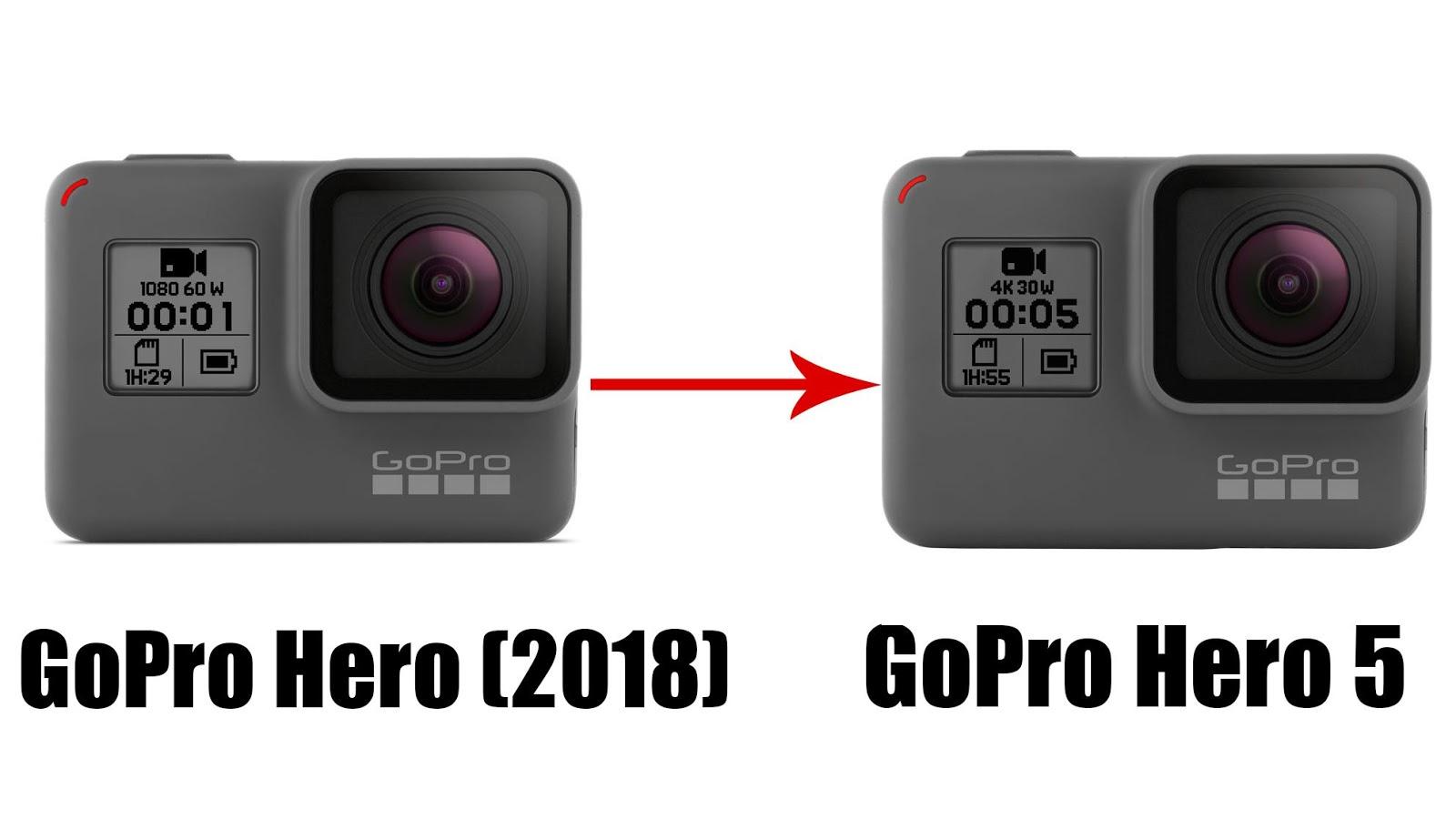 Превращение GoPro Hero 2018 в GoPro Hero 5