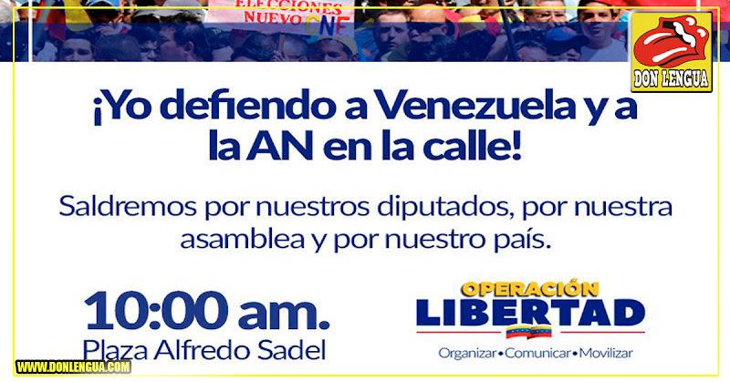 Juan Guaidó convoca marcha hasta la plaza Alfredo Sadel ( Se olvidó de Miraflores )