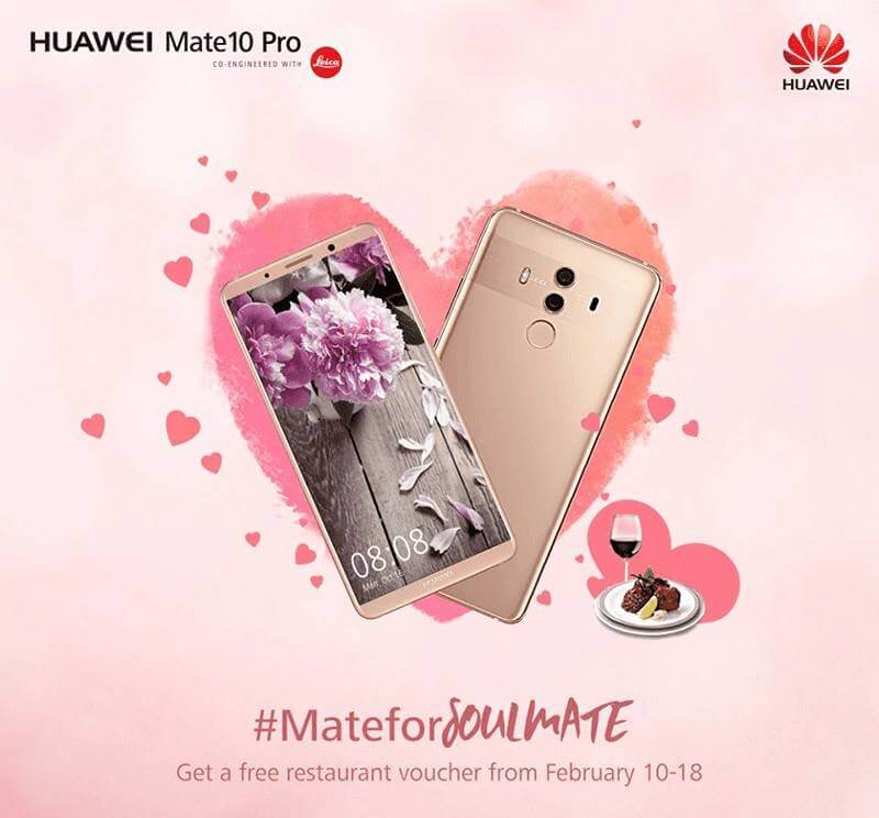 Huawei Holds The Mate for SoulMATE Valentine's Promo