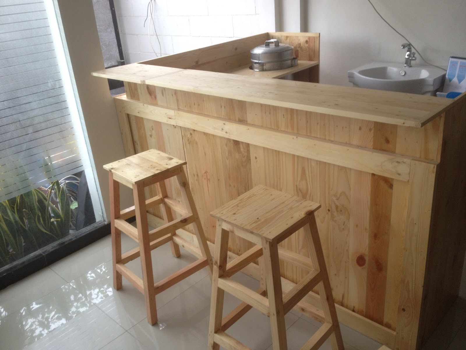 Meja Bar Mini bar minimalis surabaya