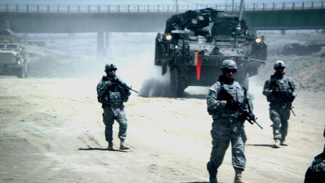 EEUU despliega fuerzas cerca de la frontera siria en Irak