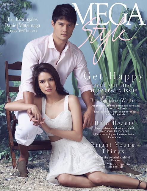 Erich Gonzales & Daniel Matsunaga MEGAstyle April 2016 Cover