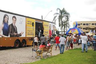 Registro-SP foi o último município a receber a Caravana Record TV Digital
