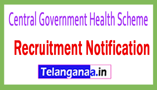 Central Government Health Scheme CGHS Recruitment
