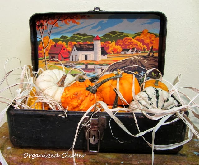Fall Paint by Number Toolbox Vignette www.organizedclutterqueen.blogspot.com