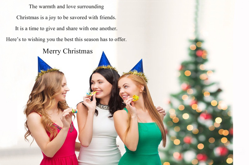 Merry Christmas Friendship Quotes Images