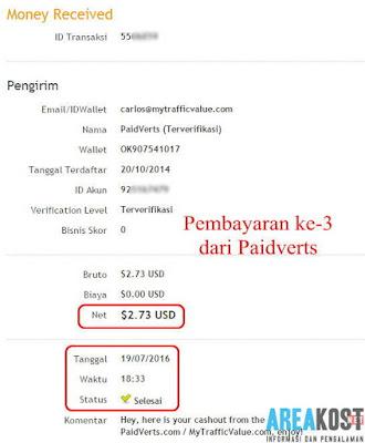 Cashout ke-3 Situs Paidverts