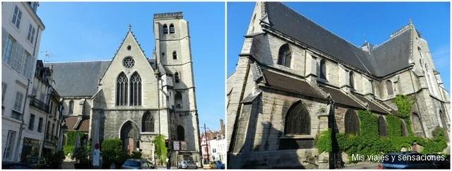 Iglesia de Saint Jean, Dijon, Borgoña, Francia