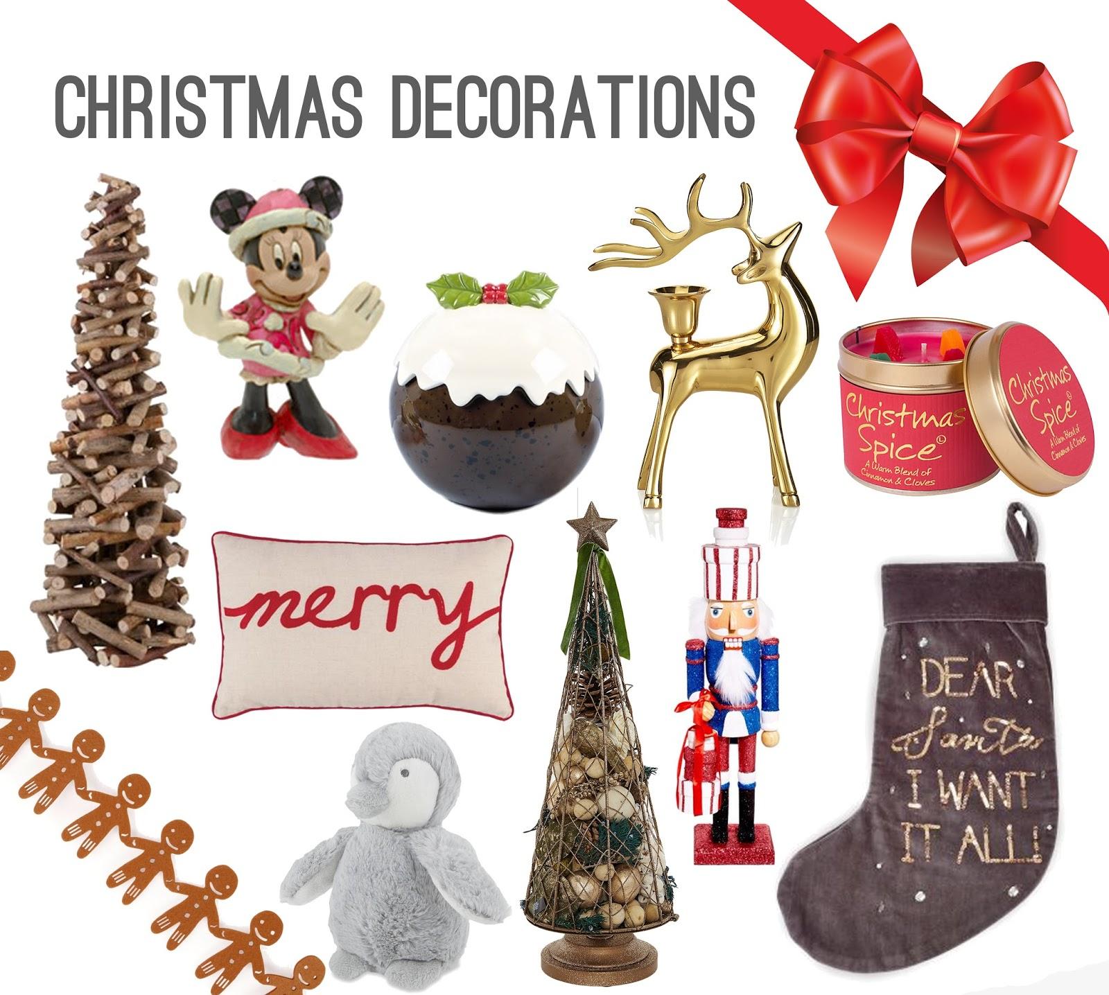 Homebase Christmas Decorations
