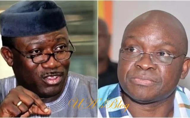 June allocation: Make salary payment your priority – Fayemi charges Fayose